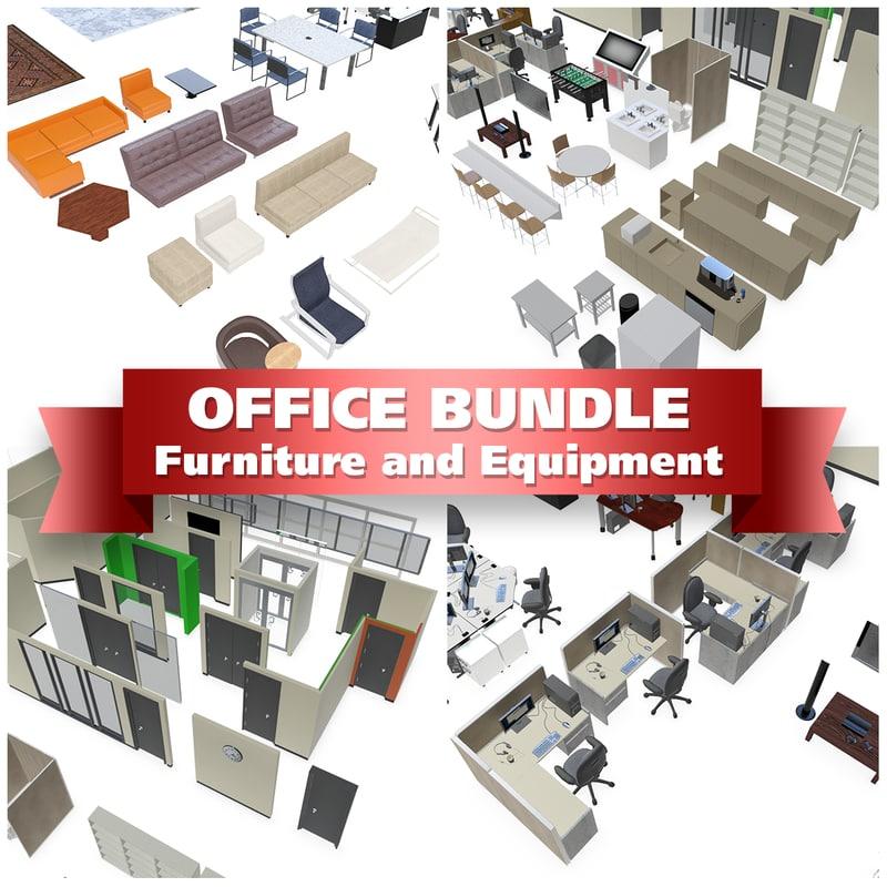 3d office equipment