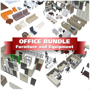 3d office equipment