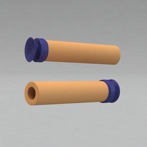 nerf darts 3d model