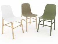 3d model of chairs sharky