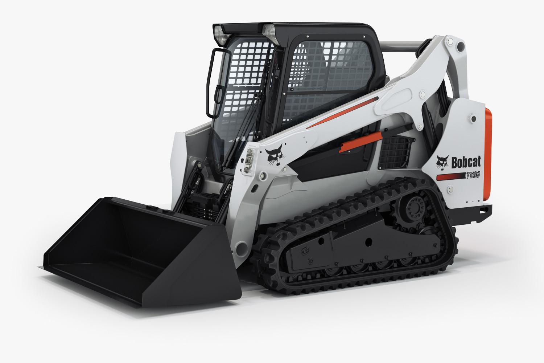 bobcat t590 compact track 3d max