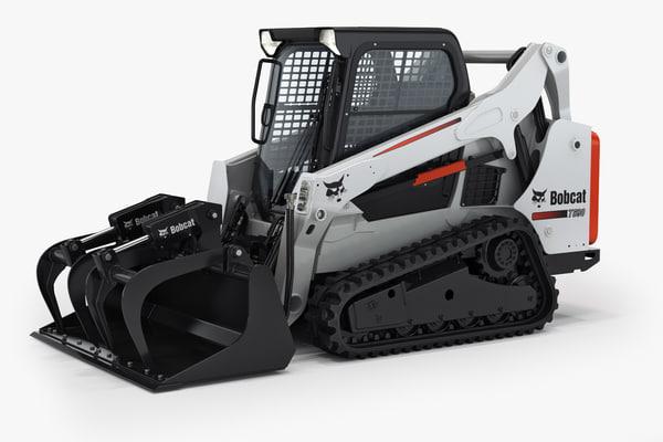 bobcat t590 compact track 3d model