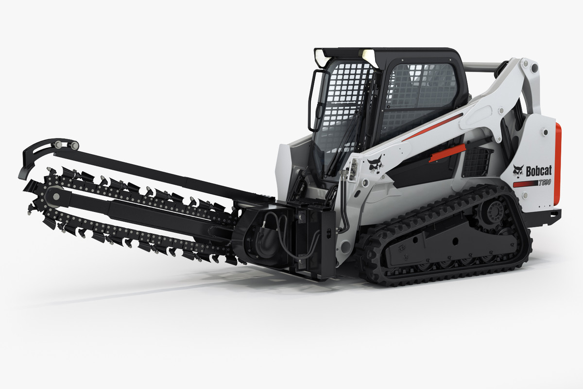 bobcat t590 compact track c4d