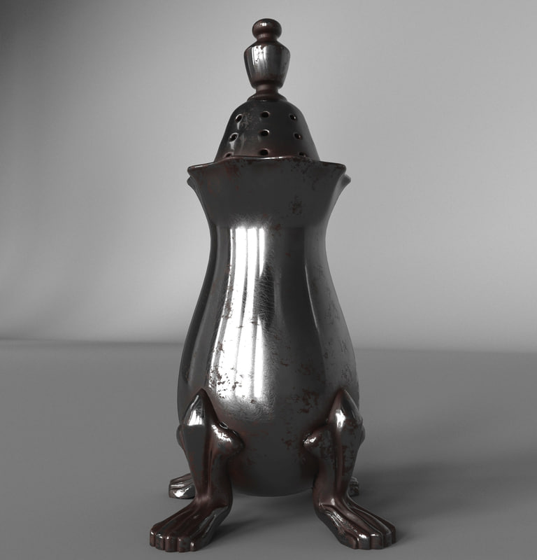 3d salt pepper model