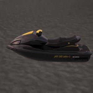 jet ski fbx