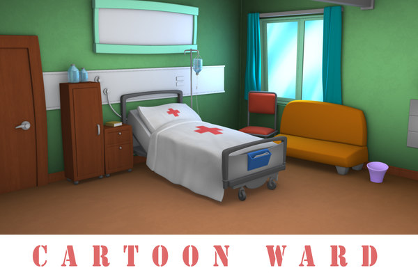 3d cartoon ward