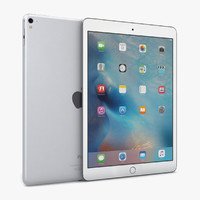 3d apple ipad pro 9 model