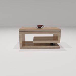 max coffee table art deco