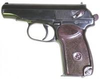makarov pistol 3d c4d
