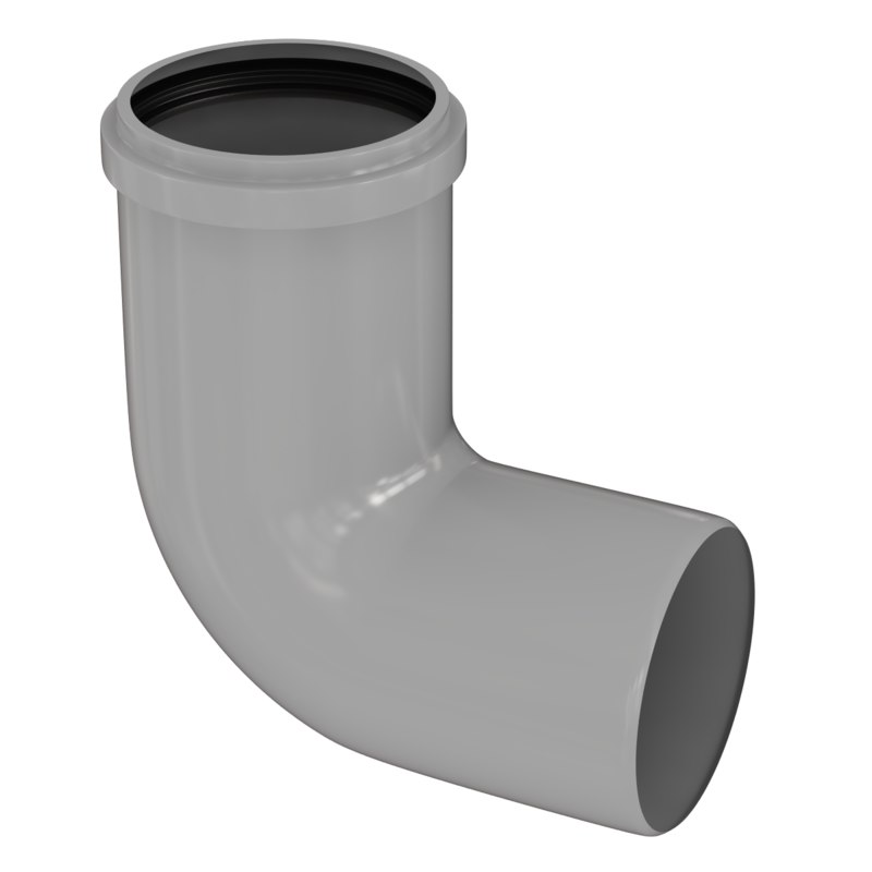 3d model pipe elbow