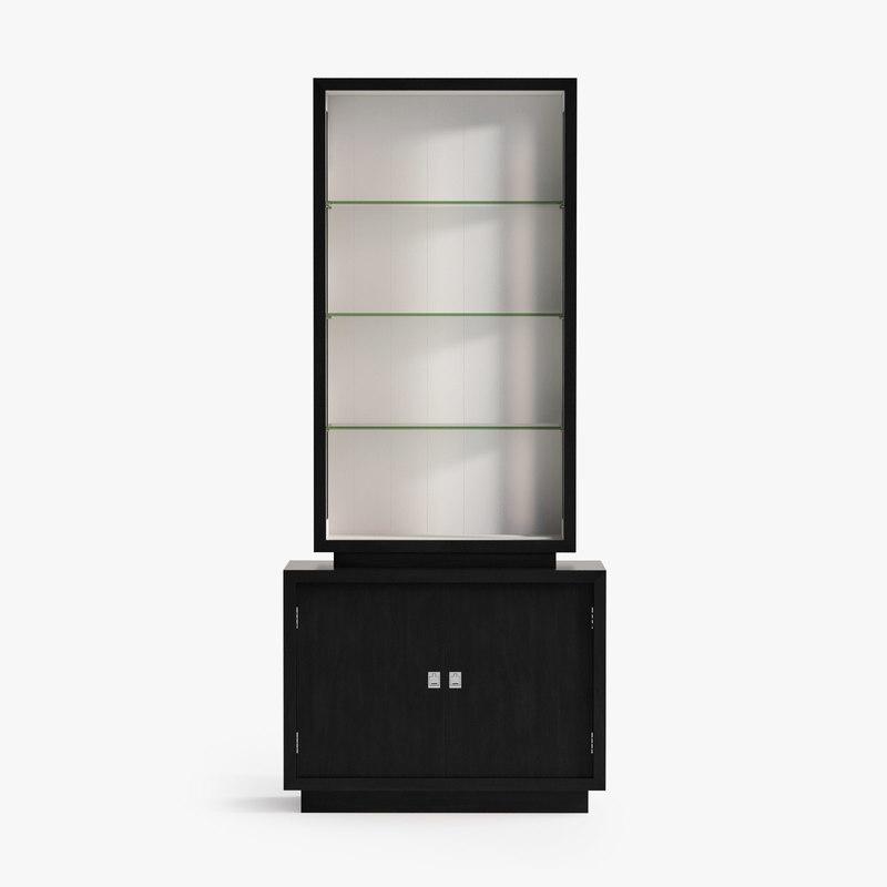 eichholtz cabinet avenue montaigne 3d max
