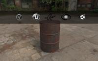 barrel style 3d max