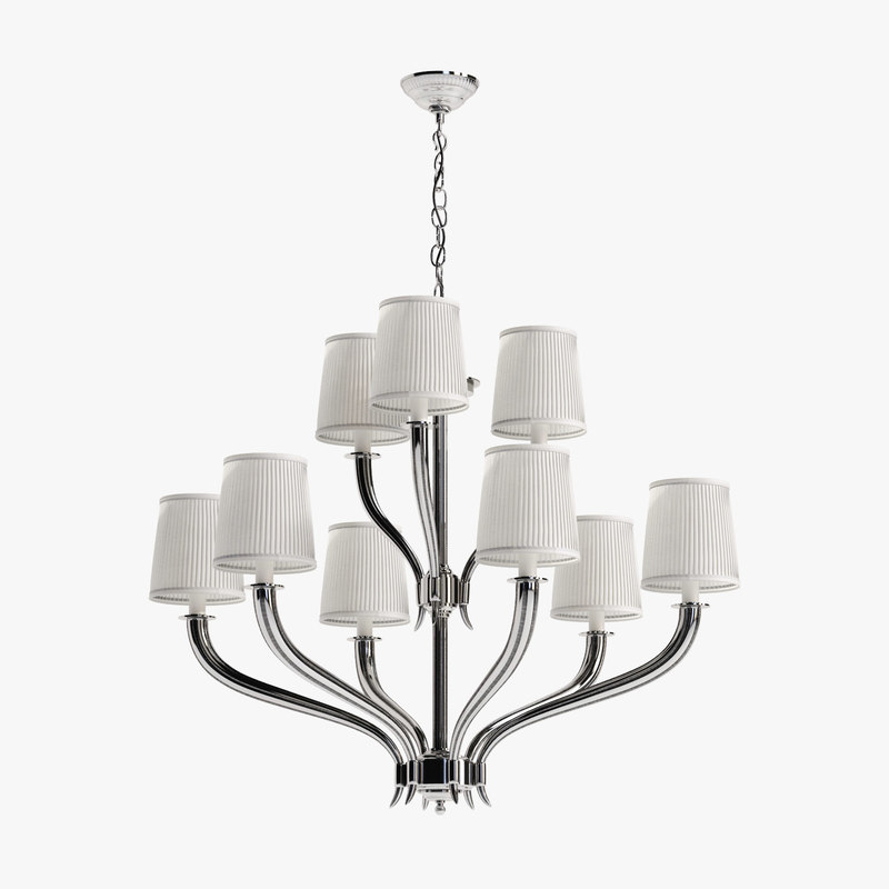 3d model of eichholtz chandelier mayflower