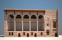 islamic building 3d model