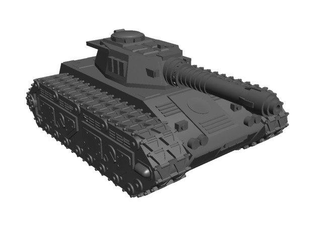 free 3ds mode printable tank