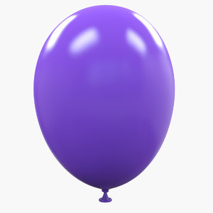 3d inflated balloon