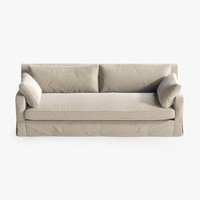 Belgian Slope Arm Sofa