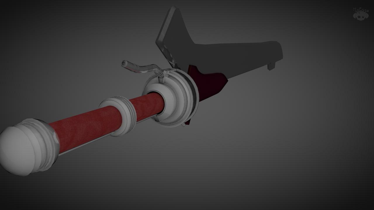 dmc sword 3d model