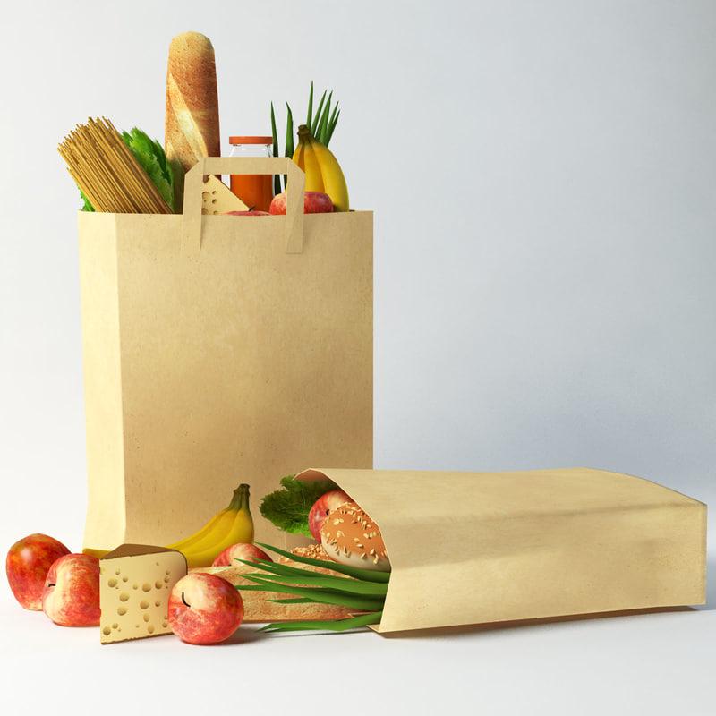 3d bag food