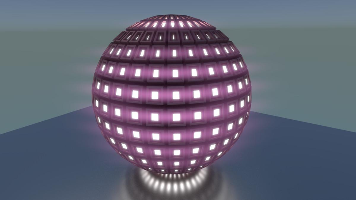 techno sphere fbx free