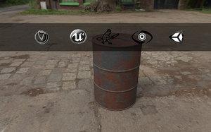 3ds ready barrel