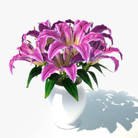 max lily pink bouquet v