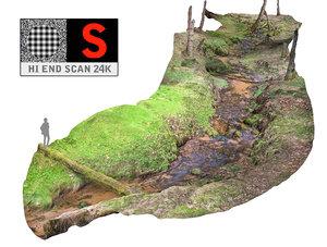 long forest river 24k obj