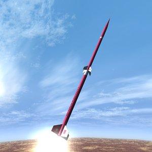 dxf beta centauro rocket