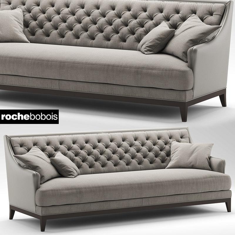 fauteuil epoq roche 3d model