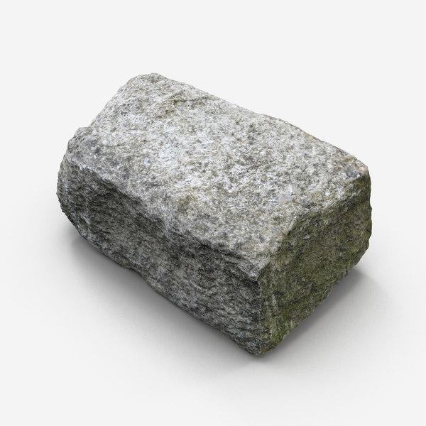 dxf stone block