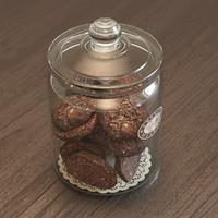 3d jar cookies
