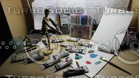 engraver 3d fbx