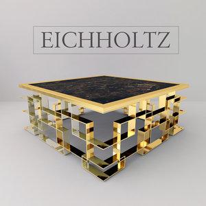 eichholtz coffee table spectre 3d model