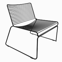 hay hee lounge chair 3d max