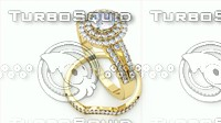 Yellow Gold Diamond Bridal Set
