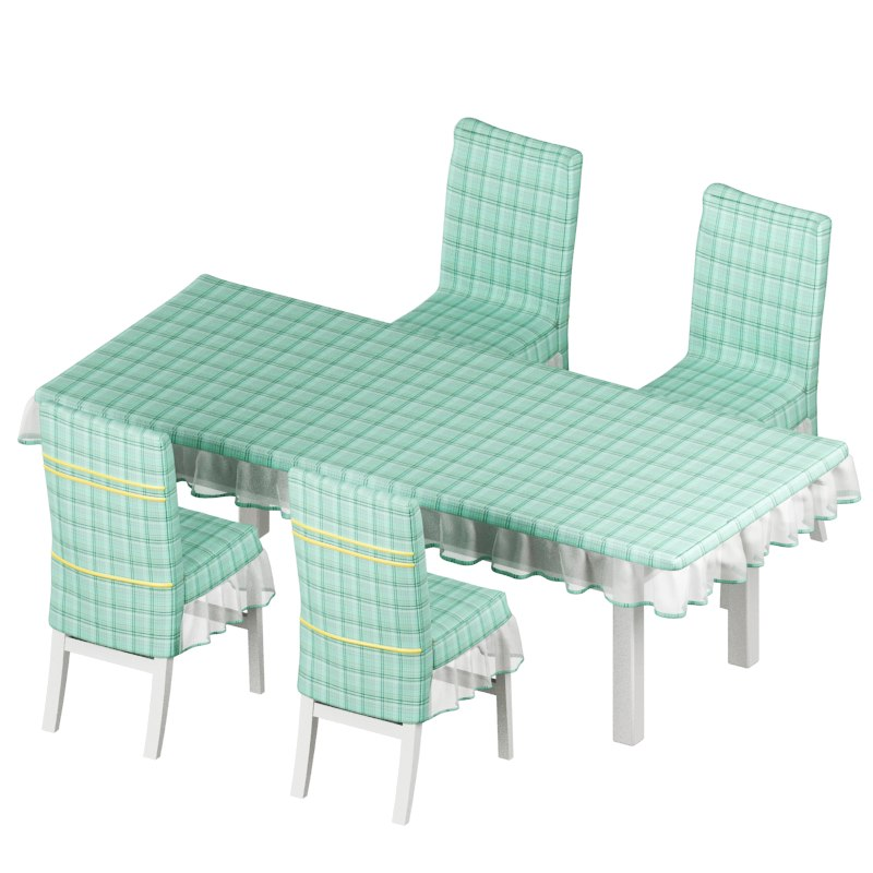 3d model of desk chair