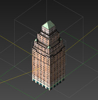 newyork building 3ds