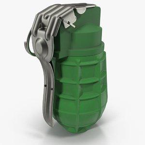 grenade urg-86 3d model