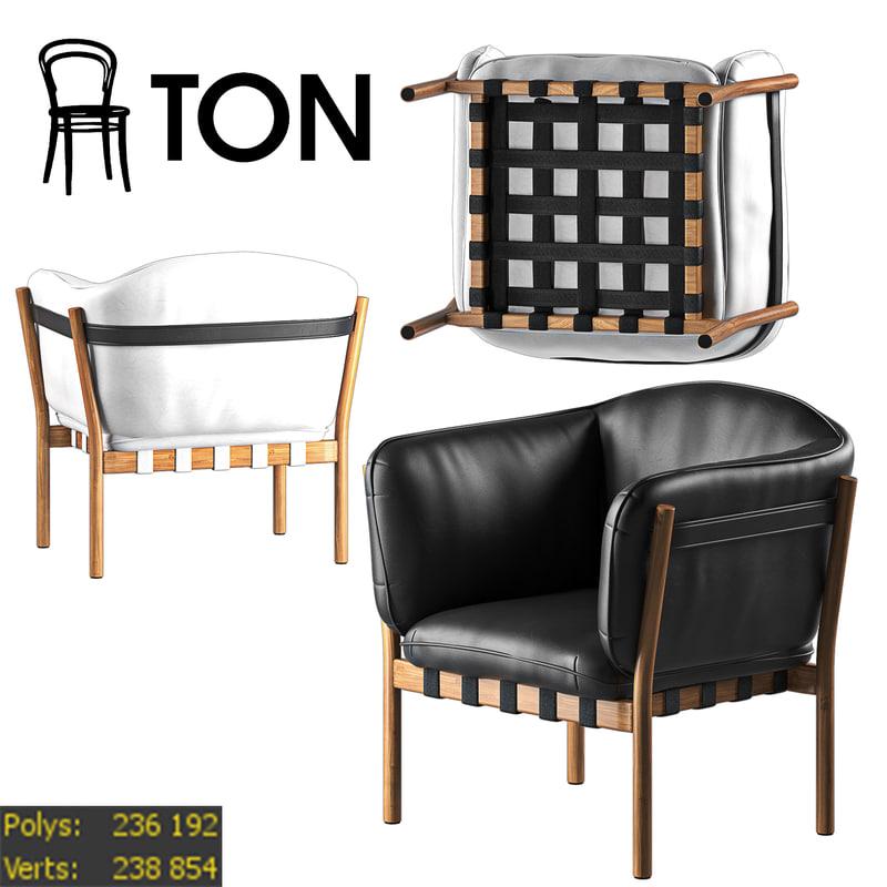 dowel ton 3d model
