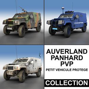 auverland panhard pvp - 3d 3ds