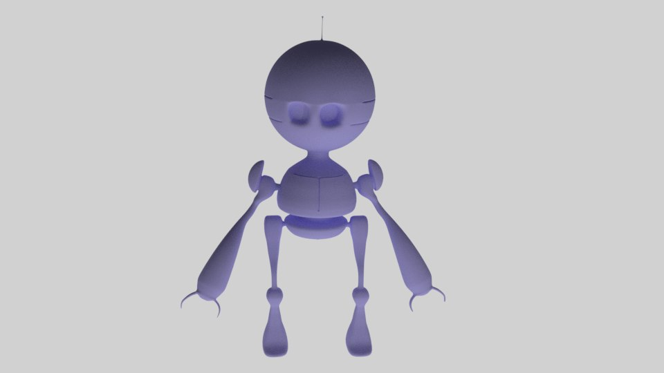 3d model robot easy make