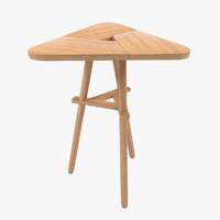 3d model shibui table