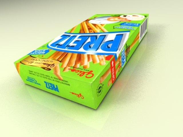 3d x glico pretz box