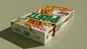 glico pretz box 3d model