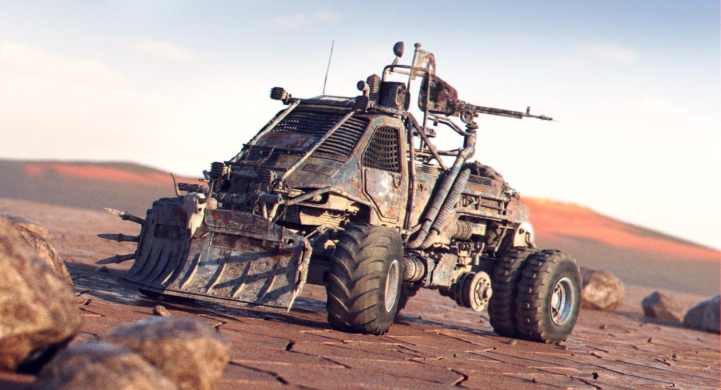 3d apocalyptic truck