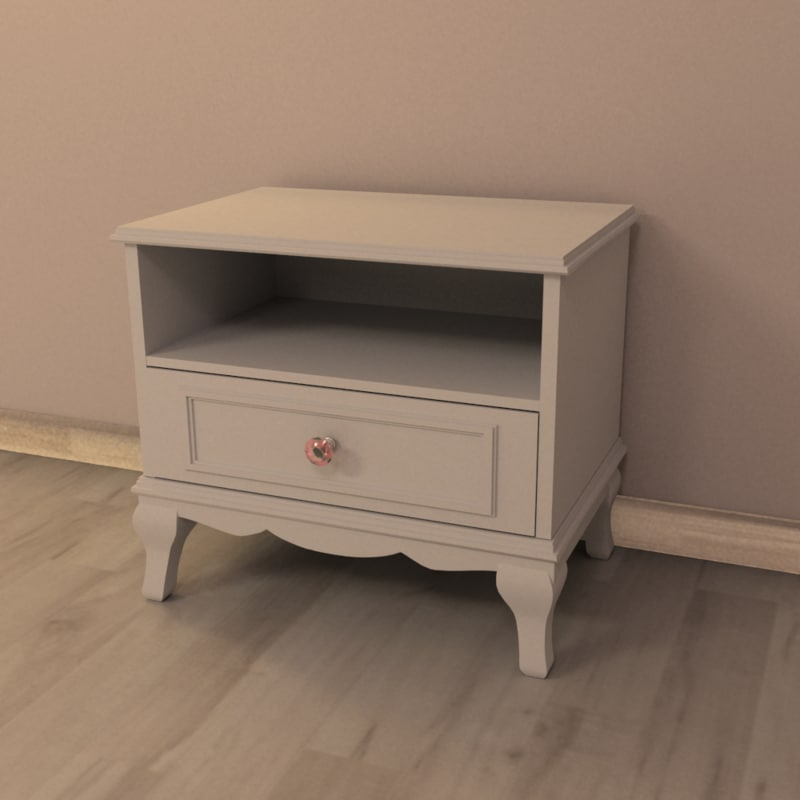 bed table 3d model