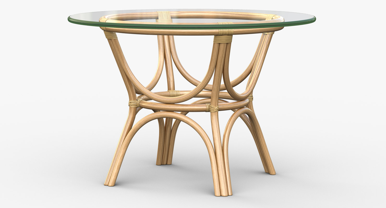 caribbean table 3d max