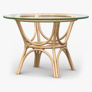caribbean table 3d max