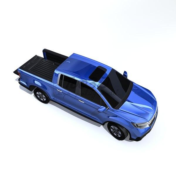 ridgeline truck 3d c4d