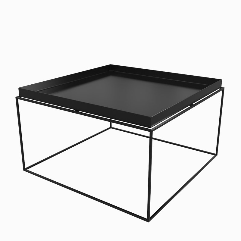 3d model hay tray tables